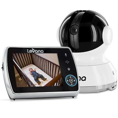 "Levana Keera 3.5"" Pan/Titlt/Zoom Video Baby Monitor with Picture/Video Recording"