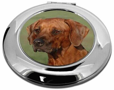Rhodesian Ridgeback Dog Make-Up Round Compact Mirror Christmas Gift, AD-RR1CMR