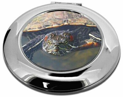 Terrapin Intrigued by Camera Make-Up Round Compact Mirror Christmas Gi, AR-T1CMR