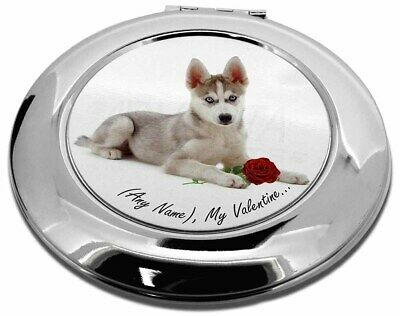 Personalised (Any Name) Make-Up Round Compact Mirror Christmas Gift, VAD-H54RCMR
