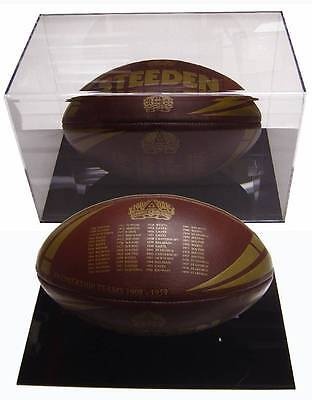 Perspex Horizontal Football Case With Stand.9