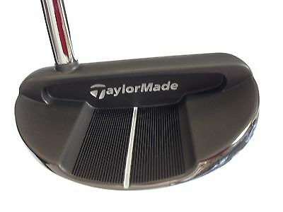 TaylorMade Golf Ghost Tour Black Monte Carlo Putter w/ SuperStroke by TaylorMade