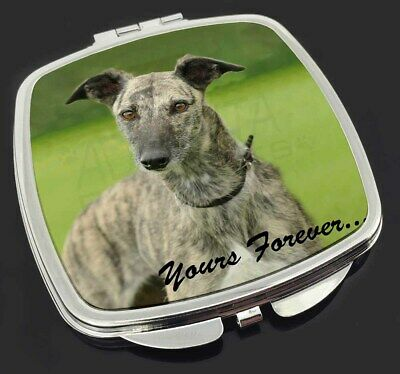 Greyhound Dog 'Yours Forever' Make-Up Compact Mirror Stocking Filler , AD-LU7yCM