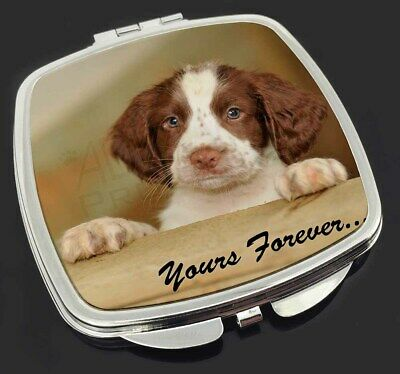 Springer Spaniel 'Yours Forever' Make-Up Compact Mirror Stocking Fil, AD-SS76yCM
