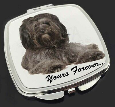 Tibetan Terrier 'Yours Forever'  Make-Up Compact Mirror Stocking Fill, AD-TT2yCM