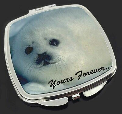Snow Seal 'Yours Forever' Make-Up Compact Mirror Stocking Filler Gift, AF-S14CM