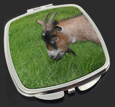 Cheeky Goat Make-Up Compact Mirror Stocking Filler Gift, AGO-1CM