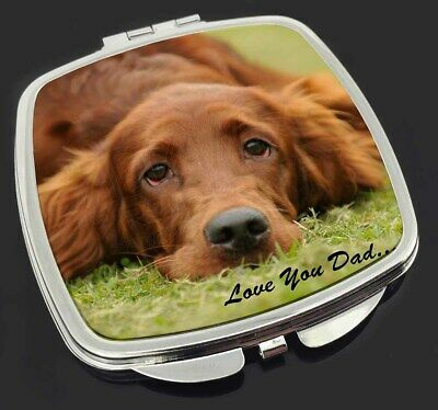 Red Setter Dpg 'Love You Dad' Make-Up Compact Mirror Stocking Filler G, DAD-93CM