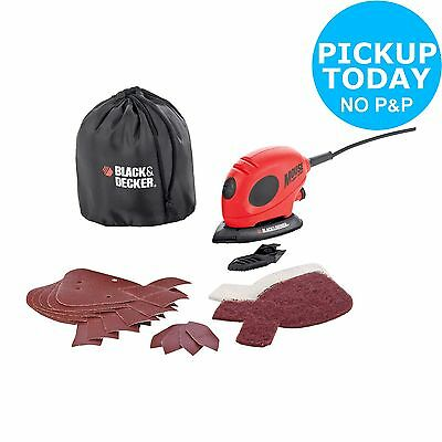 Black & Decker Mouse Detail Sander With Accessories - 55W -From Argos on ebay