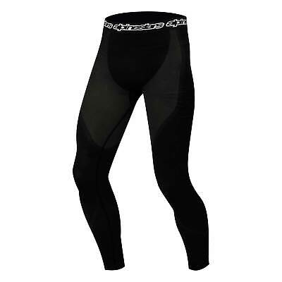 Alpinestars KX Go Kart/Karting Long Johns/Bottoms Underwear/Base Layer In Black
