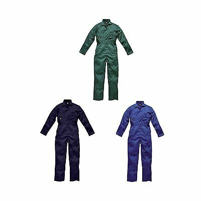 Dickies WD4829 Mens/Adult Redhawk Stud Work Overalls/Coverall/Boiler Suit