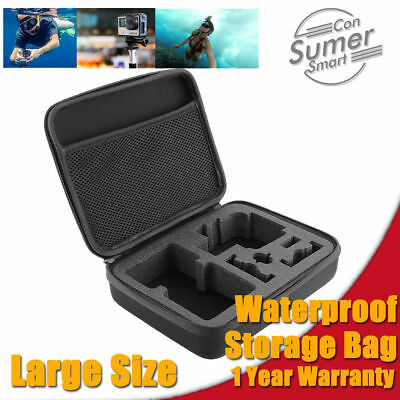 Large Waterproof Hard Bag Storage Travel Carry Case Cover For GoPro Hero 5 4 3+2