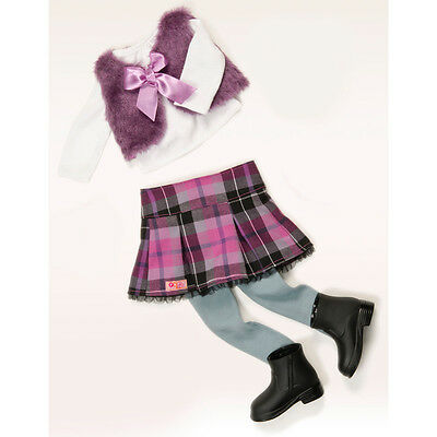 Our Generation A Taid Plaid Doll Outfit NEW