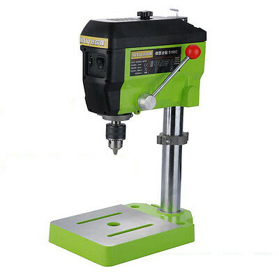 680W Mini Bench Drill Small Beads Micro Milling Making Tool 13mm For Wood Beads