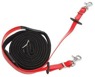 Zilco Woven Grip Reins Stainless Steel Fittings All Colours