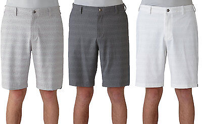 Adidas Ultimate Dot Plaid Golf Shorts Mens Closeout New - Choose Color & Size!