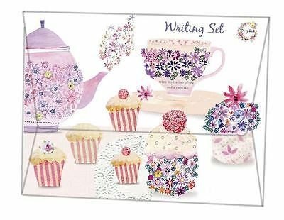 Daisy Patch Afternoon Tea Writing Set Includes Writing Paper & Envelopes