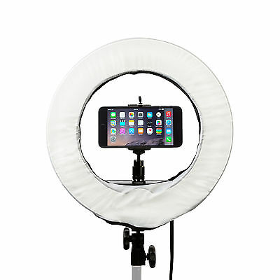 """Prismatic 14"""" Mini Halo Diva Ring Light for Beauty Blogging and Selfies"""