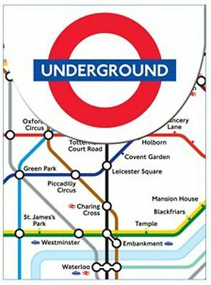 London Underground Mini Magnetic Notebook
