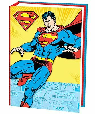 DC Comics B5 Superman Notebook Cased Hardback Lined Notebook