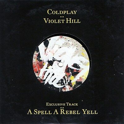 COLDPLAY Violet Hill 2008 45 PROMO Single NME Vinyl