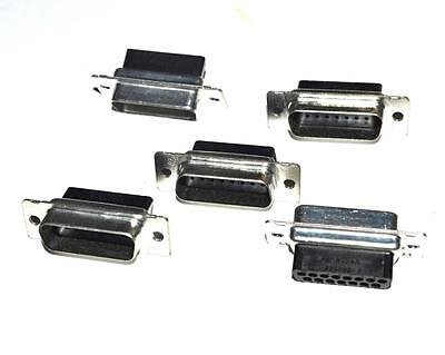 New Connector Amp Plugs  (Lot Of 5)