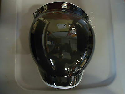 New Paulson Snap On Bubble Shield 3 Snap Clear Black FS-31