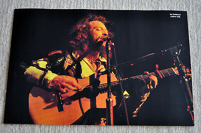 Jethro Tull Poster Ian Anderson Thick As A Brick live in France '75 poster RaRe!