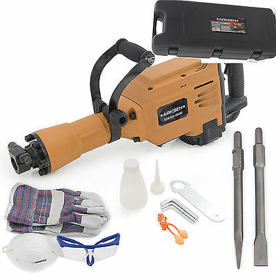 Heavy Duty Hand Held Construction Demo Jack Hammer Electric Concrete Chisel