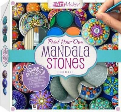 NEW Paint Your Own Mandala Stones By Katie Cameron Book with Other Items