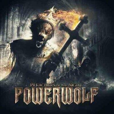 Preachers of the Night - Powerwolf Compact Disc Free Shipping!