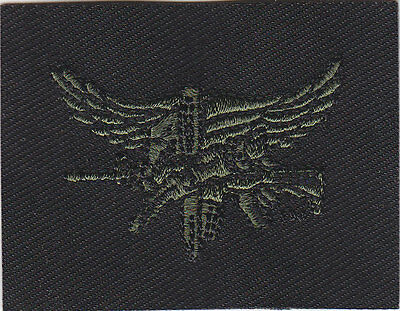 SWAT OPERATOR police patch OD GREEN on BLACK sew on Center Mass