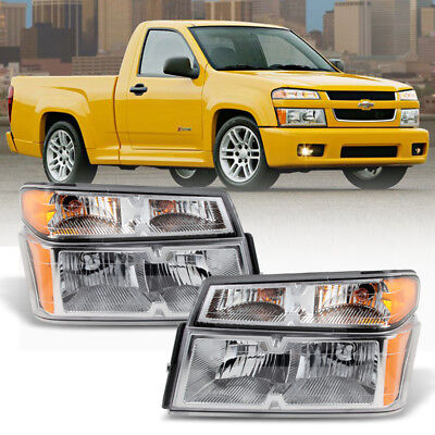 2004-2012 Chevy Colorado /GMC Canyon Headlights w/Parking Corner Lamps 4PC 04-12