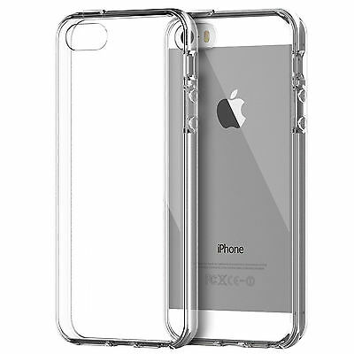 1 Pcs Transparent Ultra Thin Soft Back Case Cover For Apple iPhone 5 5S SE