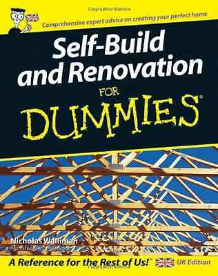 Self Build and Renovation For Dummies  (For Dummies) - Paperback NEW Walliman, N