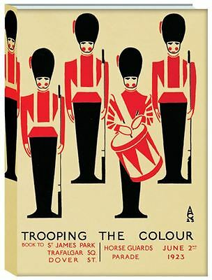 A5 Trooping The Colour Cased Notebook Hard Back
