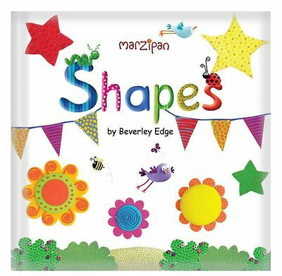 Marzipan Shapes Padded Learning Book For Children