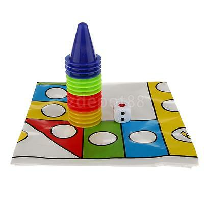 Perspective Board Game Chess Plastic Aeroplane Chess Toys with Griddle & Mat