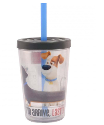 The Secret Life Of Pets 13Oz Tumbler With Straw New Gift Cup