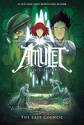 The Last Council (Amulet #4) - Hardcover NEW Kazu Kibuishi(A 2015-09-29