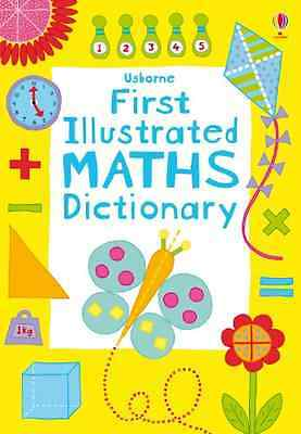First Illustrated Maths Dictionary (Usborne Dictionarie - Paperback NEW Rogers,