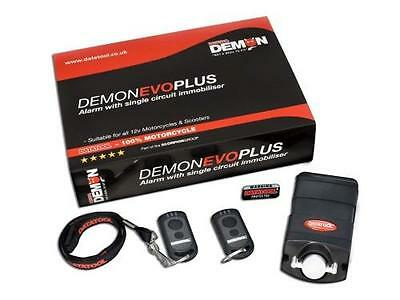 Demon Evo Plus Self Fit Motorcycle Scooter Alarm With Two Transponders Low Draw