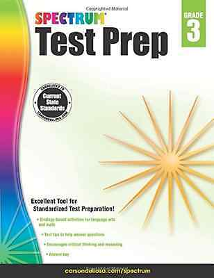 Spectrum Test Prep, Grade 3 - Paperback NEW Spectrum (Autho 2015-01-05