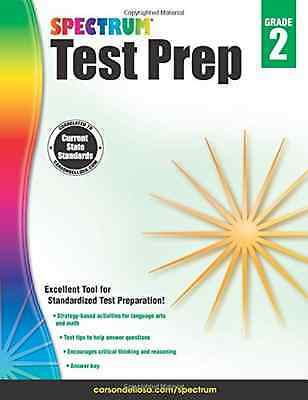 Spectrum Test Prep, Grade 2 - Paperback NEW Spectrum (Autho 2015-01-05