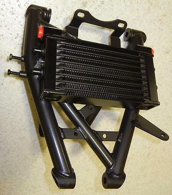 NEW universal road race oil cooler includes cut to fit sub-frame mount 01420290