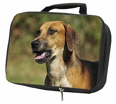 Foxhound Dog Black Insulated Lunch Box, AD-FH1LBB