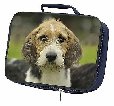 Welsh Fox Terrier Dog Navy Insulated Lunch Box, AD-FT4LBN