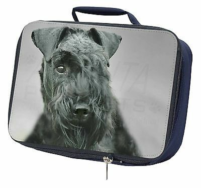 Kerry Blue Terrier Dog Navy Insulated Lunch Box, AD-KB1LBN
