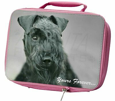 Kerry Blue Terrier 'Yours Forever' Insulated Pink Lunch Box, AD-KB1yLBP