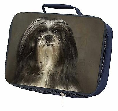 Lhasa Apso Dog Navy Insulated Lunch Box, AD-LAP1LBN